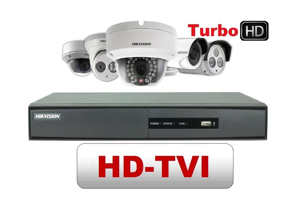 HDTVI Cameras